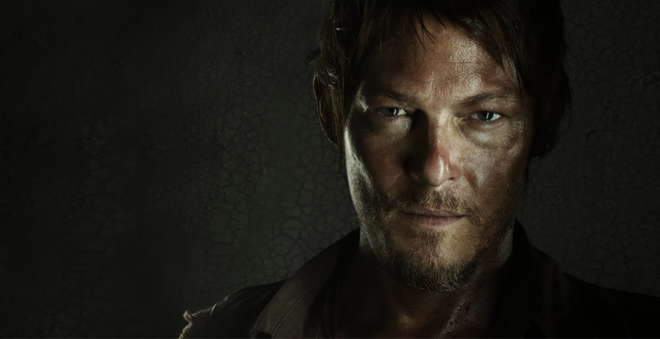 Norman Reedus cry