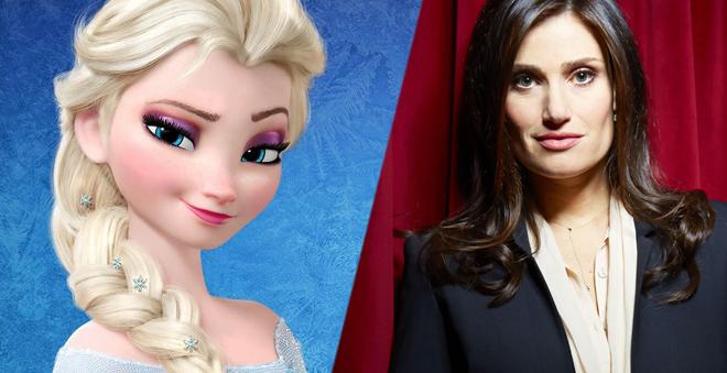 """Idina Menzel comenta sobre uma possível continuação de """"Frozen"""""""
