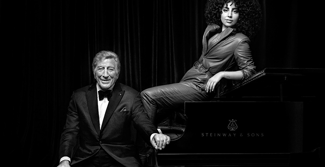 "Tony Bennett e Lady Gaga lançam clipe para ""It Don't Mean A Thing"""