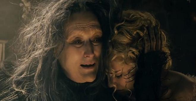 """Meryl Streep canta """"Stay with Me"""" em novo vídeo de """"Caminhos da Floresta"""""""