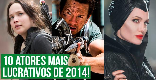 Saiba quem são os 10 atores mais lucrativos de 2014!