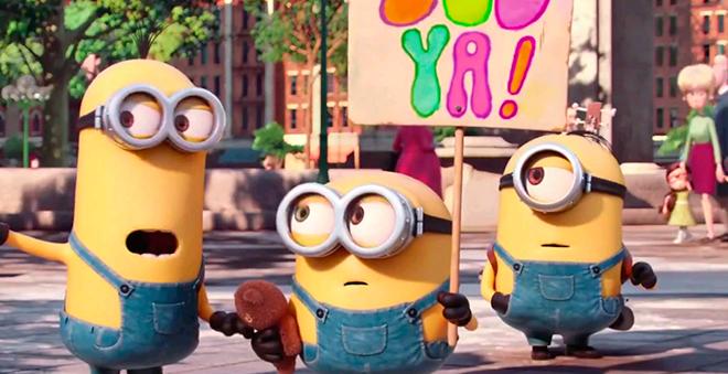 """Novo trecho de """"Minions"""" mostra como foi a chegada dos personagens em Nova Iorque!"""