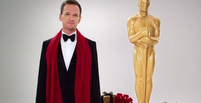 Assista ao novo comercial do Oscar 2015 com Neil Patrick Harris