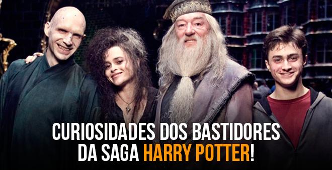 8 fatias: Confira várias curiosidades dos bastidores da saga Harry Potter!