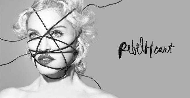 """Madonna divulga tracklist completa de """"Rebel Heart"""""""