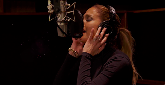 "Ouça ""Feel The Light"", música de Jennifer Lopez para a trilha sonora de ""Home"""