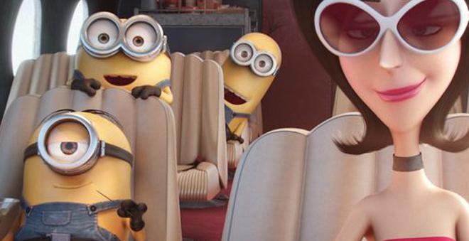 """Kevin, Stuart e Bob encontram uma chefe perfeita em novo trailer de """"Minions"""""""