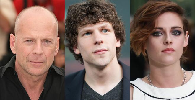 Novo filme de Woody Allen contará com Bruce Willis, Jesse Eisenberg e Kristen Stewart no elenco