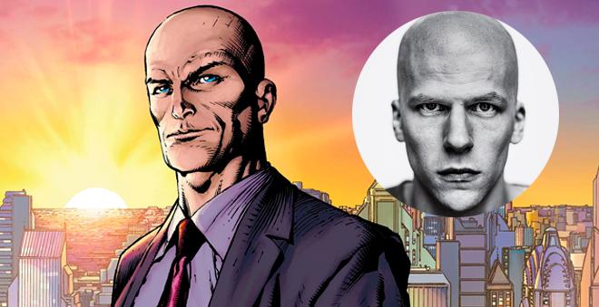 """Confira a primeira imagem de Jesse Eisenberg como o Lex Luthor de """"Batman V Superman: Dawn of Justice"""""""