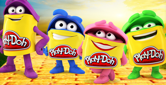 play-doh filme fox