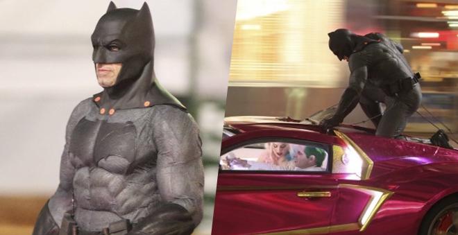 Esquadrão Suicida: novas fotos e vídeos mostram Batman perseguindo o Coringa