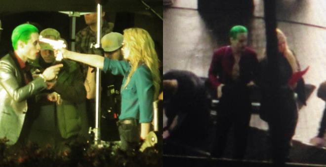 """OMG! Coringa e Arlequina aparecem em novas imagens e vídeo de """"Esquadrão Suicida"""""""