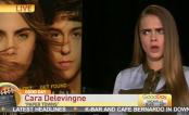 Cidades de Papel: Entrevista de Cara Delevingne é interrompida ao vivo!