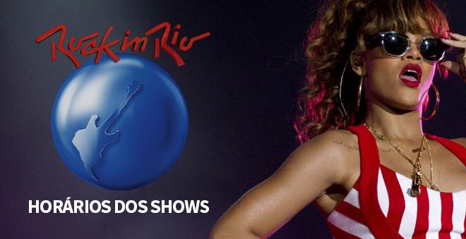 Rock in Rio 2015: Anunciado os horários das apresentações!