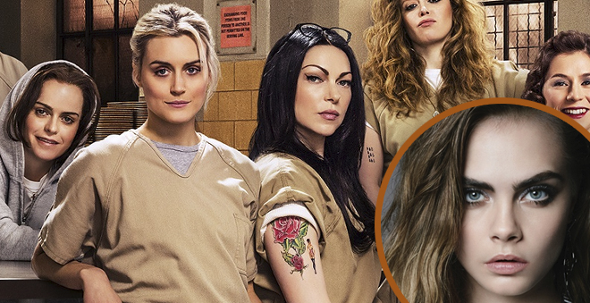 "Cara Delevingne poderá estar na quarta temporada de ""Orange is the New Black"""