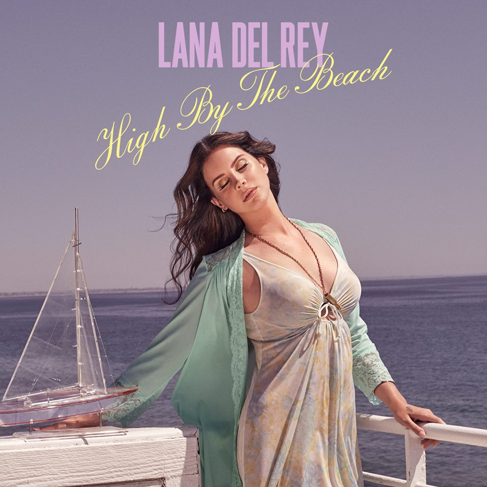 High By The Beach single cover