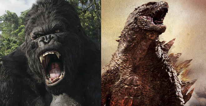"Warner Bros. está desenvolvendo o crossover ""King Kong vs. Godzilla"""