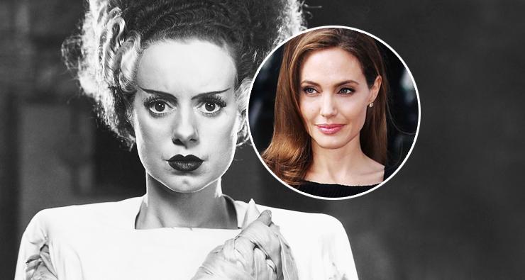 "Angelina Jolie pode protagonizar refilmagem de ""A Noiva de Frankenstein"""