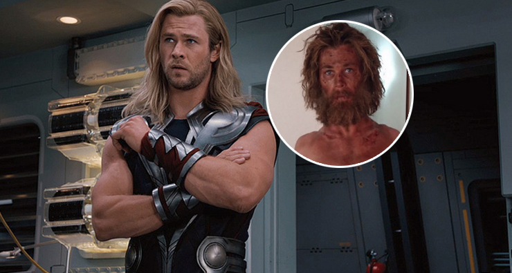 """Chris Hemsworth emagrece e fica IRRECONHECÍVEL no filme """"No Coração do Mar"""""""