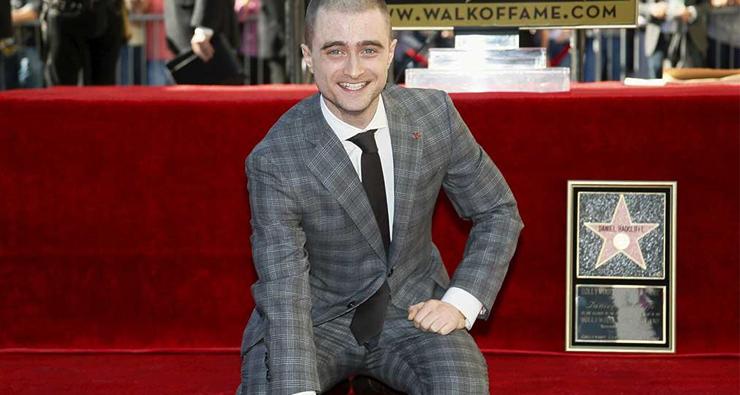 Daniel Radcliffe, nosso eterno Harry Potter, ganha estrela na Calçada da Fama de Hollywood