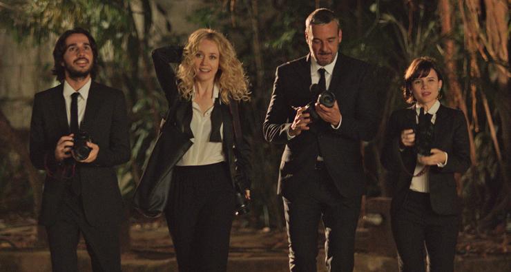 Alexandre Borges e Camila Morgado fazem par romântico em 'Bem Casados'