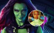 """OMG! Zoe Saldana em primeiras fotos dos bastidores de """"Guardiões da Galáxia 2"""""""