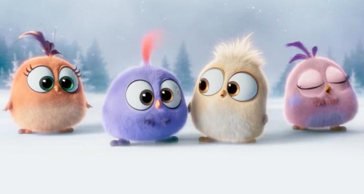 """Coisa mais fofa do universo esse clipe natalino de """"Angry Birds – O Filme""""; vem ver!"""