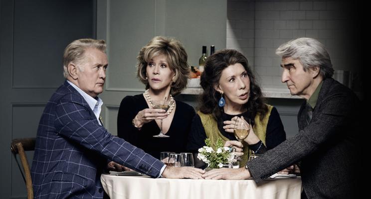 """Netflix anuncia a renovação de """"Grace and Frankie"""" para a terceira temporada!"""