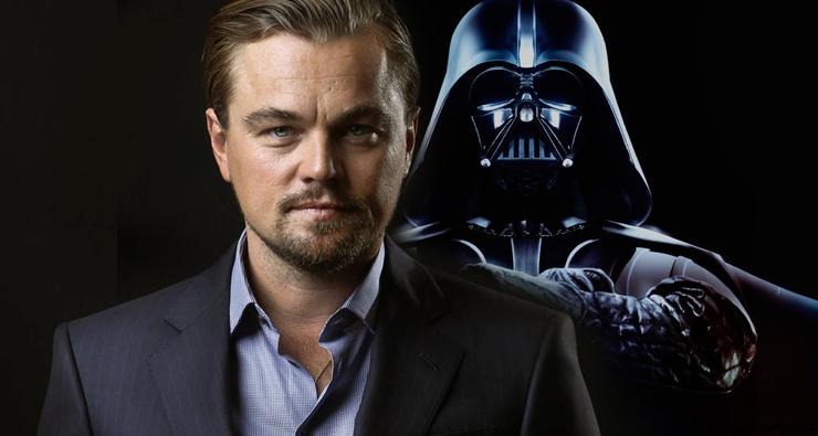 """Leonardo DiCaprio revela que negou o papel de Darth Vader na saga """"Star Wars"""""""