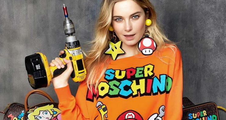 Moschino e Nintendo se unem para lançar uma coleção incrível celebrando os 30 anos do Super Mario