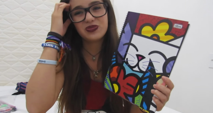 Youtuber Viih Tube confundiu Romero Britto com Picasso e viralizou na internet