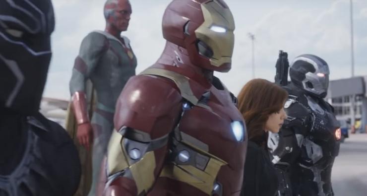 """""""Capitão América: Guerra Civil"""" ganha incrível comercial durante o Super Bowl; assista!"""