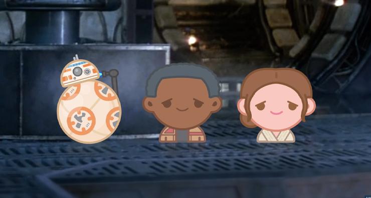 """Disney conta história de """"Star Wars: O Despertar da Força"""" usando emojis super fofos!"""