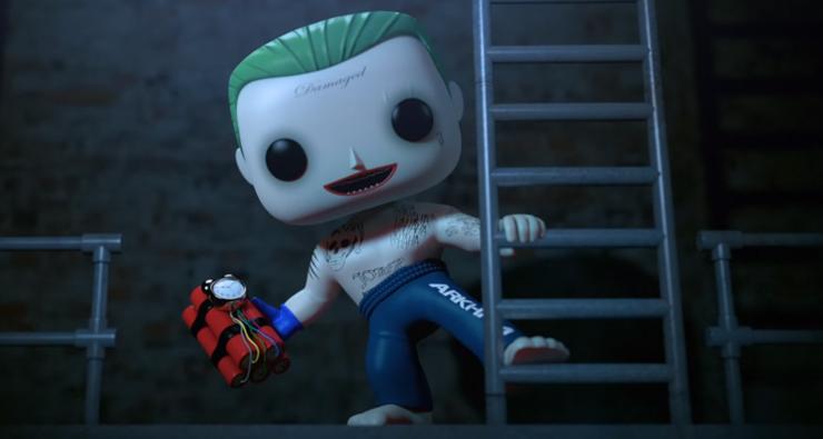 """Funko lança trailer INCRÍVEL para sua coleção de bonecos de """"Esquadrão Suicida"""""""