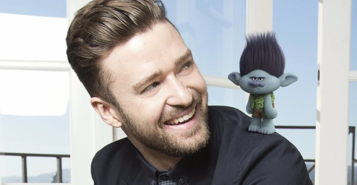 "Ouça ""Can't Stop The Feeling"", nova música do Justin Timberlake para a animação ""Trolls"""