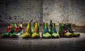 Agora nós podemos ser uma Tartaruga Ninja! Veja as novas botas inspiradas nos quatro irmãos