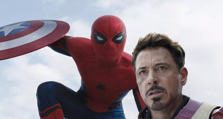 Robert Downey Jr. zoa Homem-Aranha em divulgação do novo filme do Cabeça de Teia