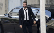 """Hugh Jackman aparece grisalho e barbado em fotos do set de """"Wolverine 3"""""""