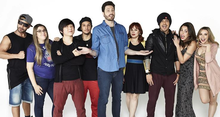 Oito youtubers brasileiros irão participar de reality show apresentado por Danilo Gentili