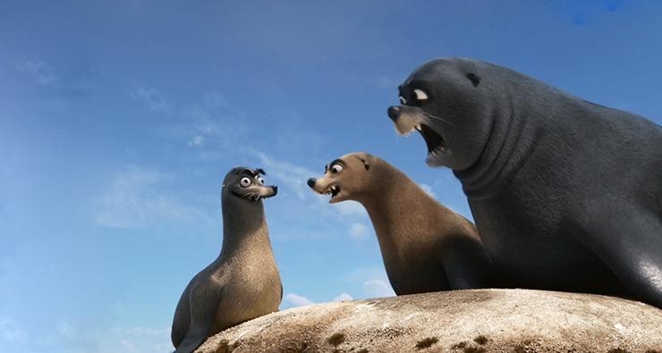 """A internet decidiu: a estrela de """"Procurando Dory"""" é Geraldo, o leão marinho"""