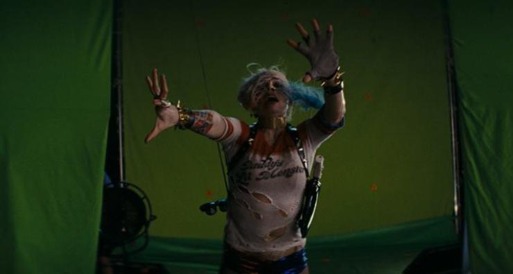 """Imagens mostram o antes e o depois dos efeitos especiais de """"Esquadrão Suicida"""""""