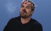 """Xerife de """"Stranger Things"""" faz teste para ser a Eleven em vídeo hilário!"""