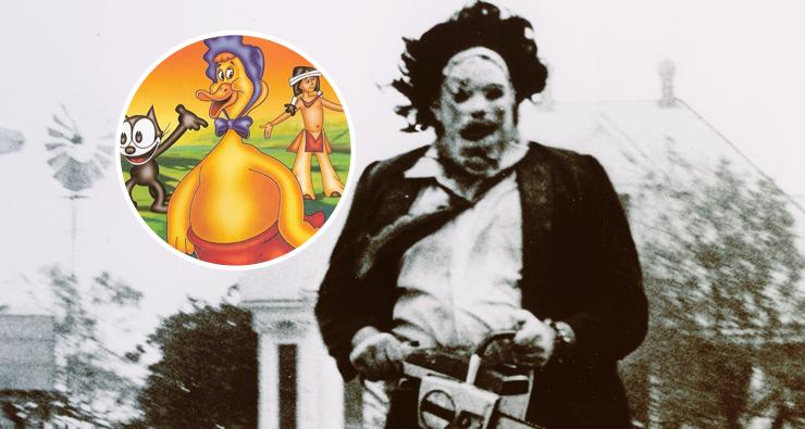 """Diretor revela que assassino de """"O Massacre da Serra Elétrica"""" foi inspirado no desenho """"Huguinho, o Bebê Gigante"""""""