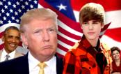 """Seguindo a tradição de montagens com presidentes, Donald Trump canta """"Baby"""" do Justin Bieber"""