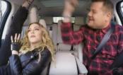 Madonna canta alguns hits e quase se joga para fora do carro no Carpool Karaoke!