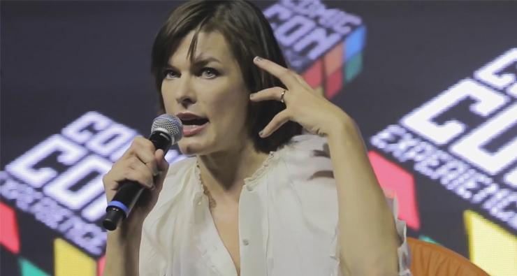 "Assista a entrevista completa de Milla Jovovich e o diretor de ""Resident Evil"" na CCXP 2016!"