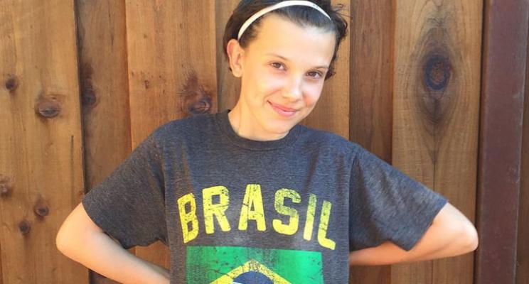 """Millie Bobby Brown cancela visita ao Brasil por conta das gravações da 2ª temporada de """"Stranger Things"""""""