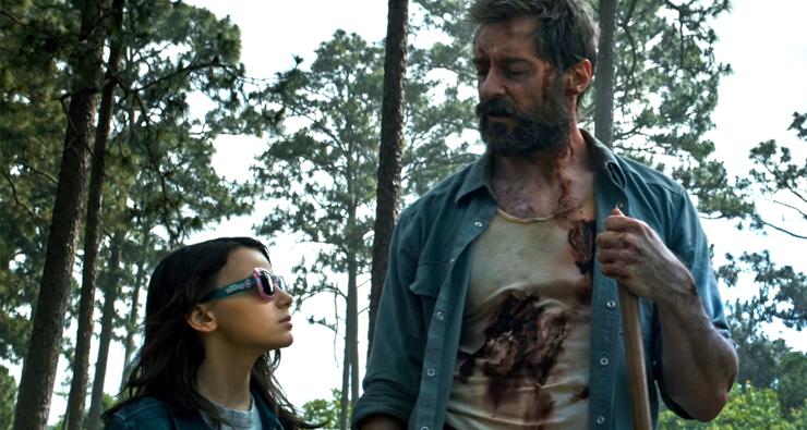 """Vem gamar na Laura também! X-23 é o destaque do novo trailer de """"Logan"""""""