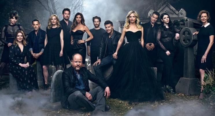 """Como lidar com essa reunião de """"Buffy, a Caça-Vampiros"""" na Entertainment Weekly? ❤"""