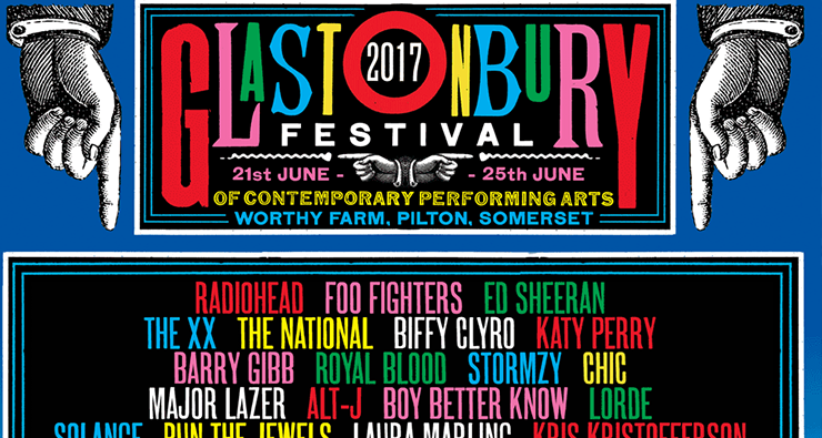 Katy Perry, Lorde, Tove Lo e HAIM estão confirmadas no line-up do festival Glastonbury